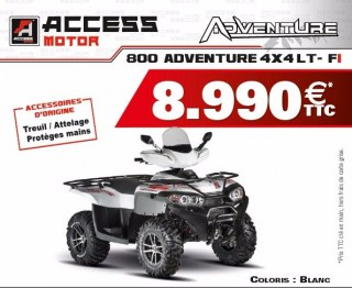 Adventure 800 4x4 80 FI EPS CHASSIS lONG