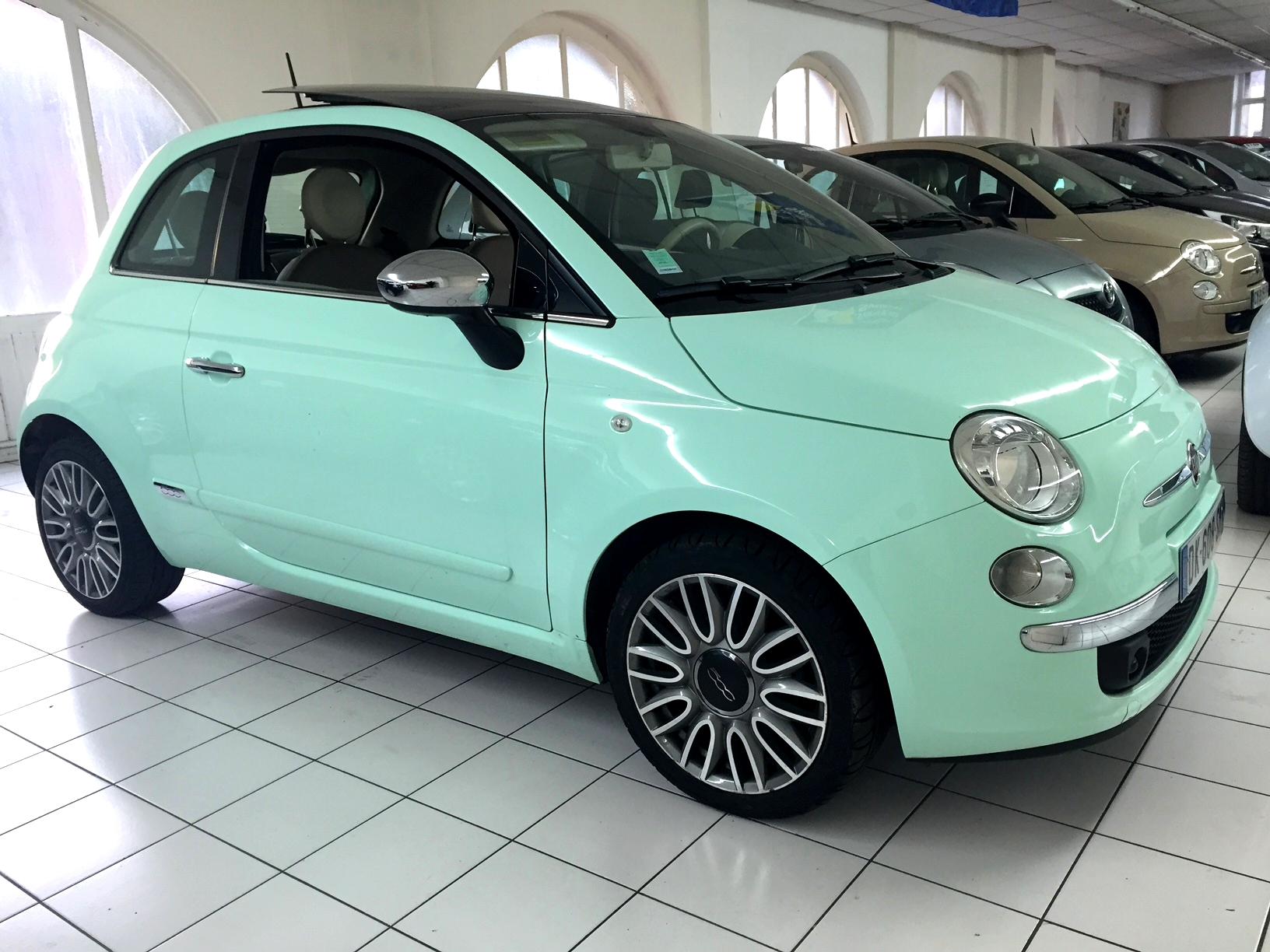fiat 500 cabrio diesel occasion. Black Bedroom Furniture Sets. Home Design Ideas